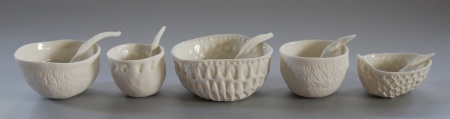 Vicki Grima, pinched bowls and spoons, August 2013